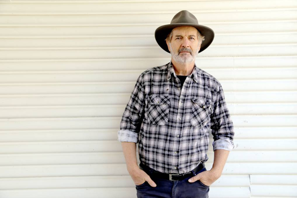 Actor John Jarratt is the abassador for the Asbestos Awareness Month Campaign. Photo supplied